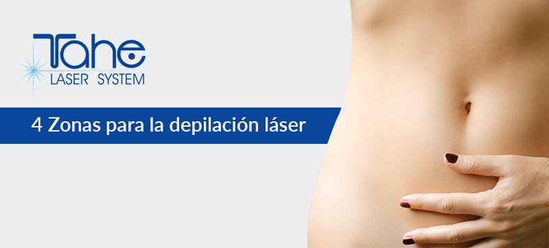 zonas depilar láser diodo